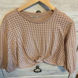 Zara sweatshirt top